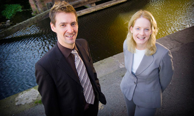 Stephen Ashmore and Tracy Ruthven of the Clinical Audit Support Centre